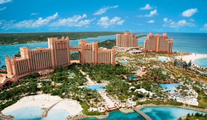 Atlantis Paradise Island in the Bahamas, Caribbean for CME, CLE, and CE