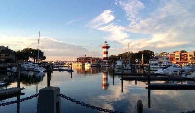 View of The Sea Pines Resort, Hilton Head Island South Carolina CME CLE CE destination.