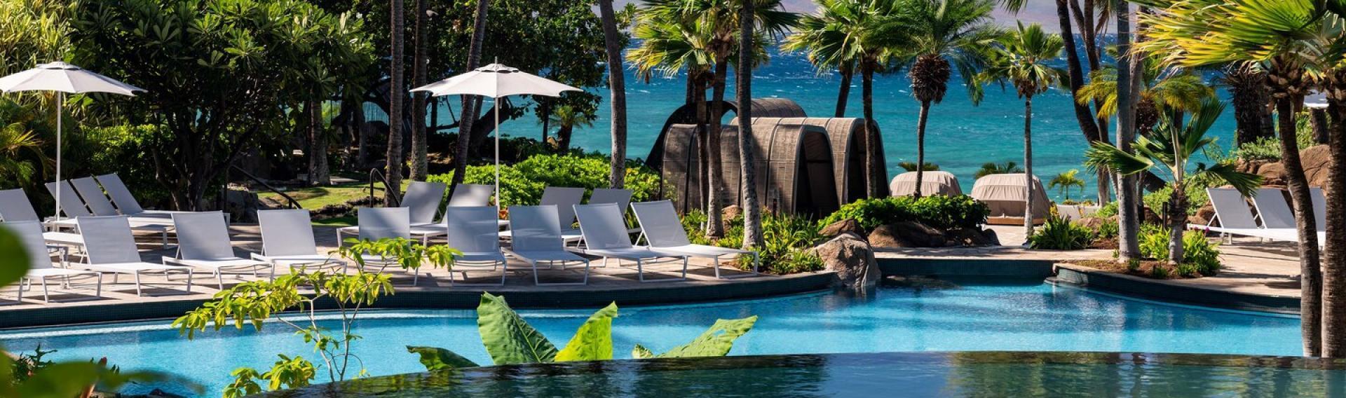 View of The Westin Maui Resort & Spa, Ka'anapali, Lahaina (Maui) Hawaii CME CLE CE destination.